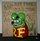 Original Rat Fink Resin Shifter Knobs - Red & Green (Small)